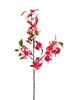 "42"" Japanese Pink Silk Cherry Blossom Flower Spray"