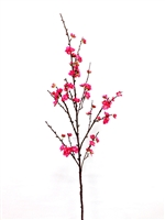 "49"" Silk Plum Blossom Flower Spray"