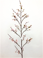 "72"" Silk Plum Blossom Flower Spray"
