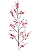 "72"" Pink Silk Plum Blossom Flower Spray"