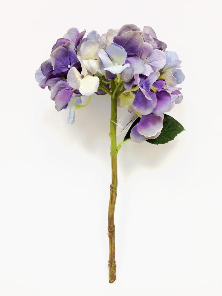 13 light violet hydrangea silk flower pick mightylinksfo