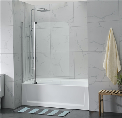 CVP-010 Fixed and Swing Panel Over Bathtub