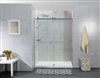 DS03 Frameless Double Sliding Door