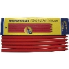 Part#  4090156 Red Graphite Color Pen Refill for Profi marker- 5 per box