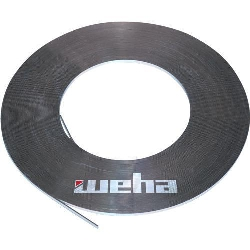 "Part#  8160061 Weha Carbon Fiber Rodding 1/8"" x 3/8"" x 328' roll"