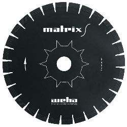 "Part#  VZ051413 14"" Weha Matrix S Diagonal Diamond Blade"