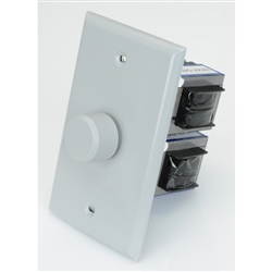 Outdoor In-Wall Rotary Volume Control - Gray
