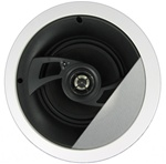 "InwallTech HD-650A High Definition 6 1/2"" Angled Ceiling Theater Speakers"
