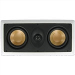 "Repaired Mounts - InwallTech M525.1LCR 5 1/4"" Dual Aluminum LCR Theater Speakers (Left, Center, Right or Rear)"