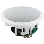 "InwallTech HD-650A High Definition 6 1/2"" Angled Ceiling Theater Virtually Invisible Speakers"
