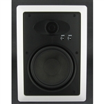"InwallTech HD-650W High Definition 6 1/2"" Virtually Invisible Wall Speakers"