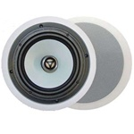 OWI ICT62A 6 1/2 in. 2-way  Aluminum Cone Ceiling Speakers