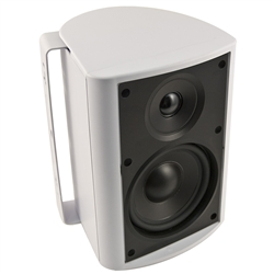 "6-1/2"" Indoor/Outdoor Cabinet Speaker (White). Woofer made from Genuine DuPont™ Kevlar® Fiber"