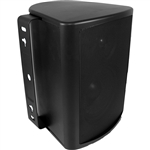 "8"" Indoor/Outdoor Cabinet Speaker (Black). Woofer made from Genuine DuPont™ Kevlar® Fiber"