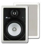 JA Audio JA-I6AII 6.5 in. 2-Way In-Wall Speakers NEW MODEL