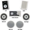 JA Audio Theater Pack for 7.1 Surround Systems w/rear and side Ceiling Speakers