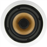 "InwallTech® M65.1Csingle 6 1/2"" Aluminum Ceiling Speaker"
