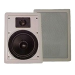 MAS Audio MASIW8C 8 in. In-Wall Speakers 80 Watts