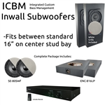 Inwall Subwoofer Kit #2