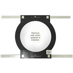 Pre-Con. Bracket (Black) for Frameless or Bezel Models: A-8LCRS, K-8LCRS, PV-8LCRS