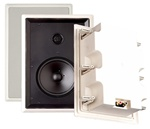 Sylvania 6.5 in 2-Way In-wall loudspeaker with pivoting tweeter