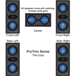 InwallTech Home Theater Kit --The Cully