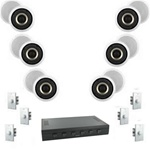 Complete Multi Room Audio System 6 Rooms