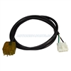 Adapter Cord, Amp to Mini J&J Ozone, Yellow 48""