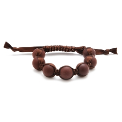 Cornelia Bracelet - Chocolate Brown
