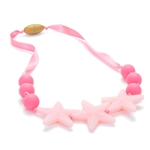 Juniorbeads Broadway 100% Silicone Glow in the Dark Beaded Necklace