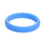 Juniorbeads Skinny Charles Jr. Bangle (Glow in the Dark) - Blue Raspberry (Pack of 3)