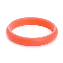 Juniorbeads Skinny Charles Jr. Bangle (Glow in the Dark) - Watermelon (Pack of 3)