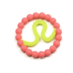 Chewbeads Baby Zodies Teether Refill - Leo Pink (Pack of 2)