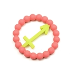 Chewbeads Baby Zodies Teether Refill - Sagittarius Pink (Pack of 2)