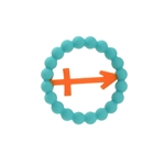 Chewbeads Baby Zodies Teether Refill - Sagittarius Turquoise (Pack of 2)