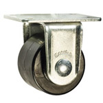 rigid low profile caster