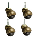 Windsor Antique Finish  Spherical Casters