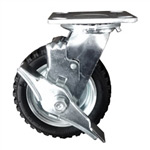 "6"" Swivel Pneumatic Caster with brake"