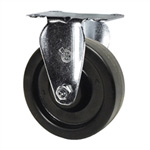 "4"" Rigid Caster with Phenolic Wheel"