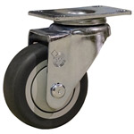 "3.5"" Swivel Caster with Thermoplastic Rubber Tread"