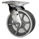 5 Inch Swivel Caster with V Groove Wheel