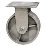 5 Inch Rigid Caster with Semi Steel Wheel
