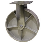 8 Inch Rigid Caster with Semi Steel Wheel
