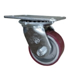 4 Inch Swivel Caster Poly on Aluminum