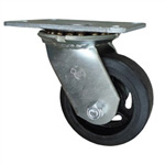 4 Inch Swivel Caster with Rubber Tread Wheel