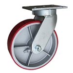 10 Inch Swivel Caster with Polyurethane Tread Wheel