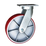 12 Inch Swivel Caster with Polyurethane Tread Wheel