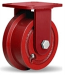 4-15/16 Inch Rigid Caster with Flanged Wheel