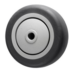"3.5"" x 1.25""  Thermoplastic Rubber  on Poly Wheel"