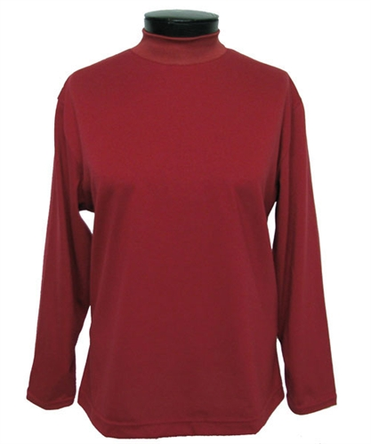 Mock Turtleneck Women Long Sleeve